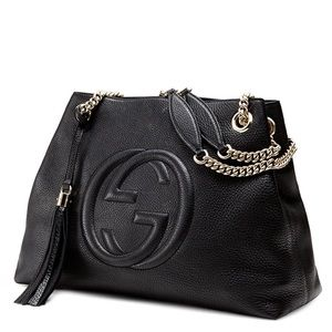 296841a56c6 Women s Gucci Soho Leather Chain Shoulder Bag on Poshmark